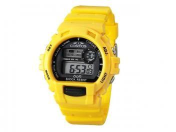 Relógio Cosmos OS 41379 Y Masculino - Esportivo Digital com Cronômetro