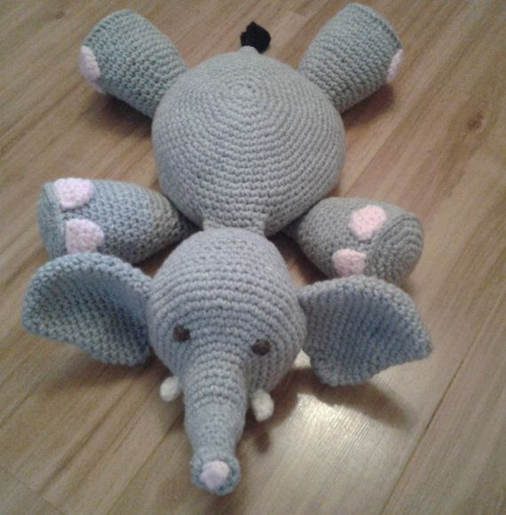 Ella The Elephant Free Crochet Pattern : 1000+ ideas about Elephant Pillow on Pinterest Pillows ...