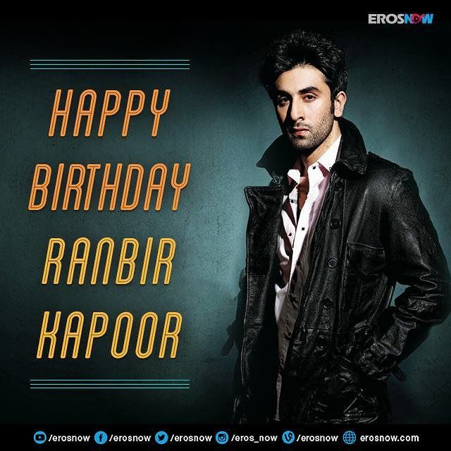 Here's wishing the incredibly talented Ranbir Kapoor many happy returns of the day!