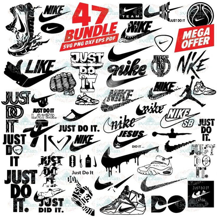 Nike, nike logo bundle, just do it svg, nike sticker