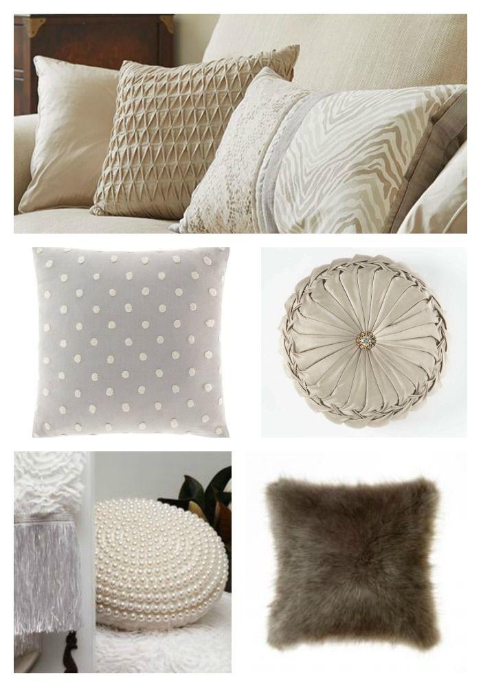DIY Decorator | Cushion Styling – Collection | http://diy-decorator.com.au