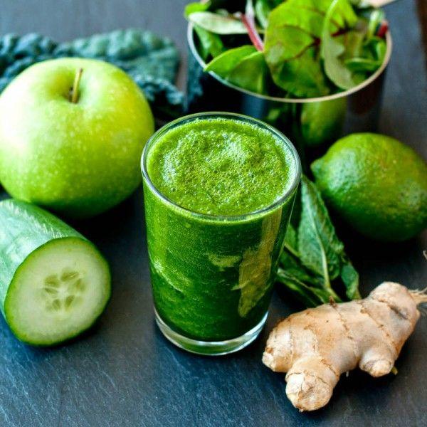 zielony smoothie - sok pelen witamin