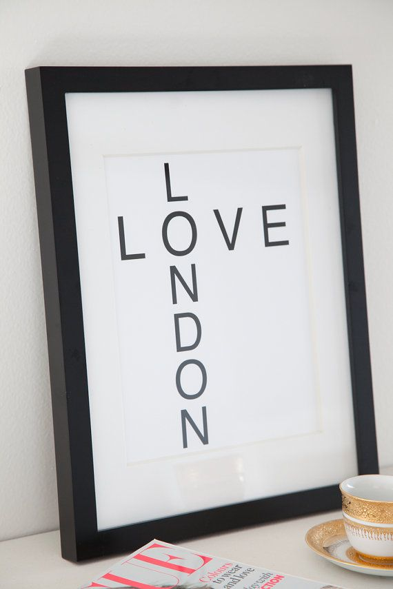 LOVE London Print 8.5x11 Wall Decor Art Travel by TarynStMichele, $15.00            Wall Decor, Art, Travel, London, Home Decor,Gold Foil, Art, Wall Decor, Metallic, Kiss, Lips, Home Decor, Gold, Letterpress, Mint, Mint Green, Pastel, Metal, Decoration, Home Office, Office Decor, Gift, Display, High Fashion, Girl's Room, Bedroom, Living Room, Pucker, Lipstick, French Kiss, Lip Print, Etsy, Shopping, Vogue