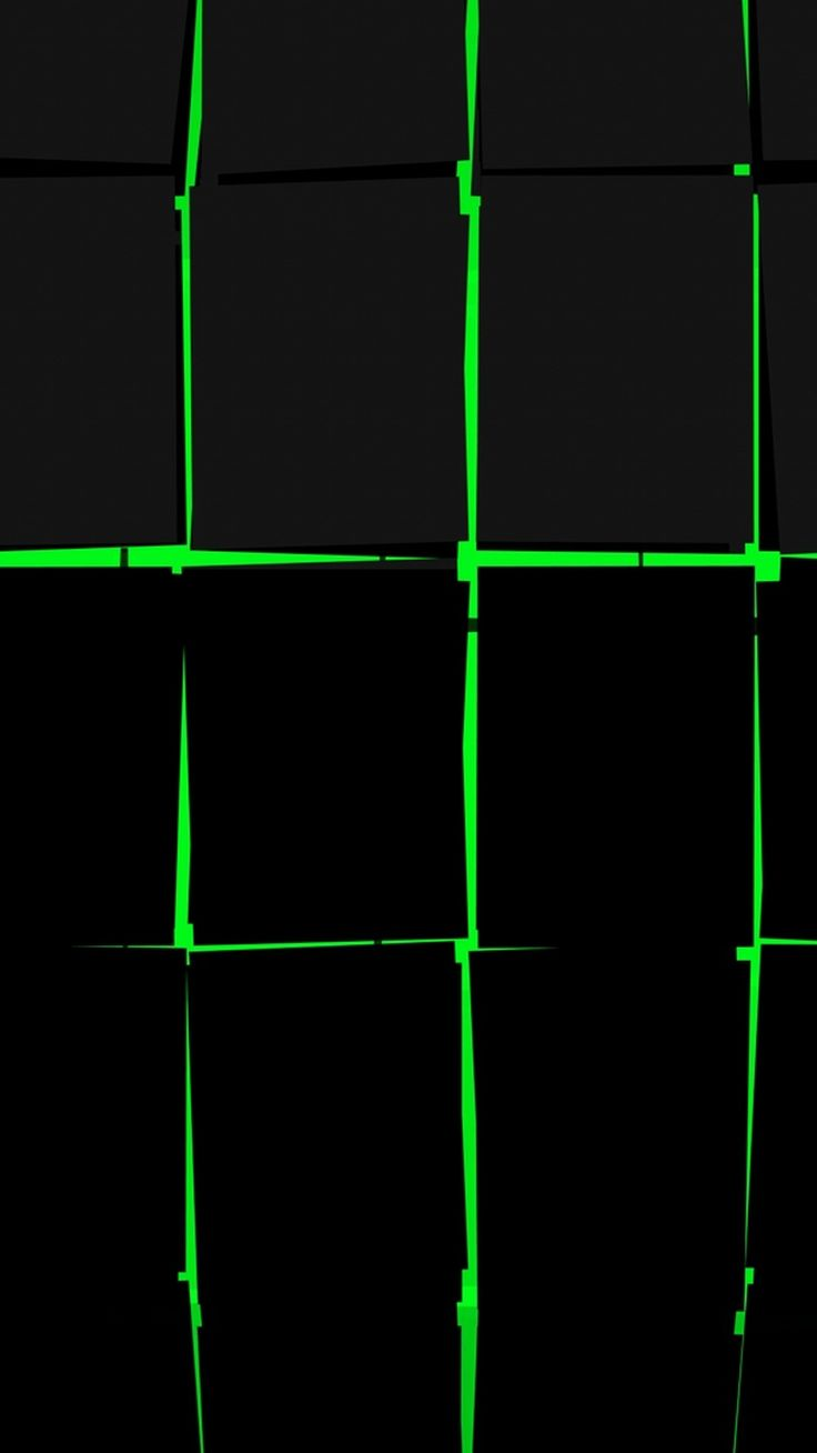 Android Wallpaper Black And Green 2019 Iphone X Wallpaper