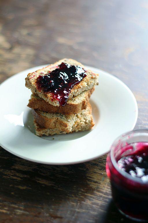 Traditional Saskatoon Berry Jam - The Kitchen Magpie