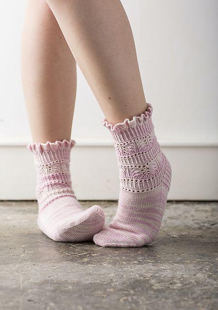 Ravelry: Renesmee Socks pattern by Rachel Coopey