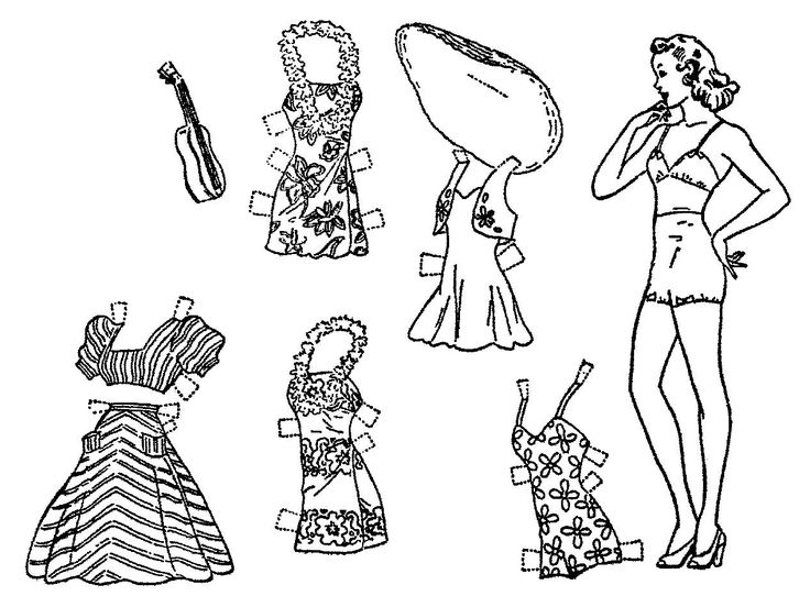 1431 best Paper Dolls  21 images on Pinterest  Paper dolls