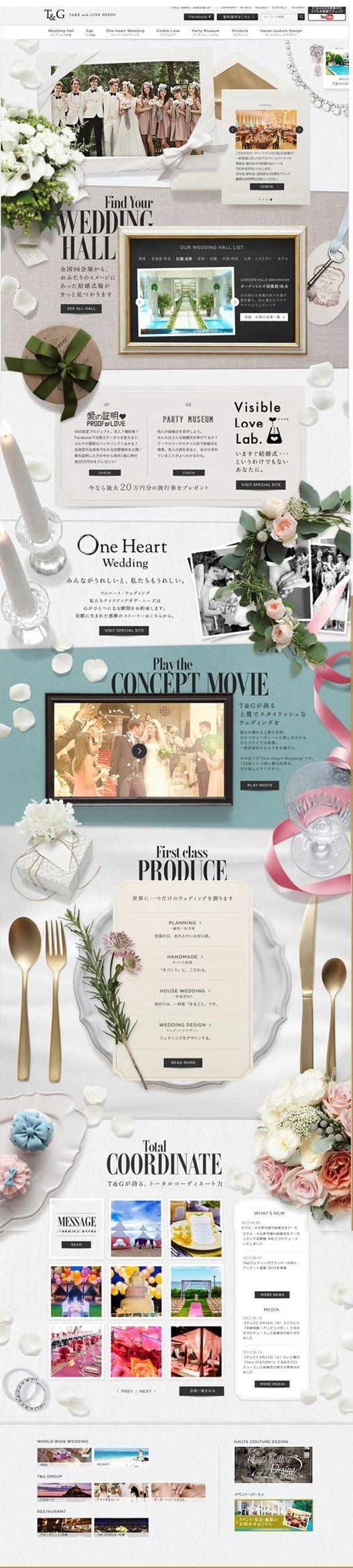 結婚式場のT&G 結婚式はオリジナルウェディングで #JapanTravelWebsite