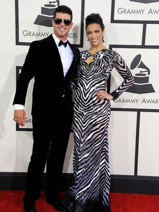 Robin Thicke, Paula Patton to Separate.