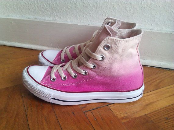 New dip dye ombre Converse  all stars chucks one of a by Femchan, €70.00