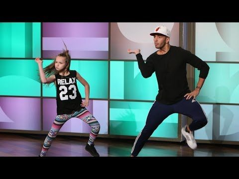 Watch this 11-year-old girl and her trainer break it down to Nikki Minaj's Anaconda. What I wouldn't have given for a dance instructor like this when I was a kid (or even now)!