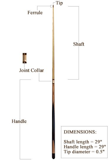 Design Your Own Pool Cue black white pool cues custom Learn How To Make A Pool Cue With This Truly Meticulous Guide Pools How To Make And Articles