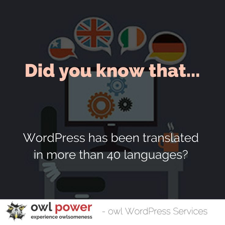 Use it to your best advantage. We`ll help you discover WordPress at its true potential. https://owlpower.eu/