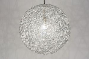 Hanglamp 72503: Modern, Eigentijds Klassiek, Design, Aluminium