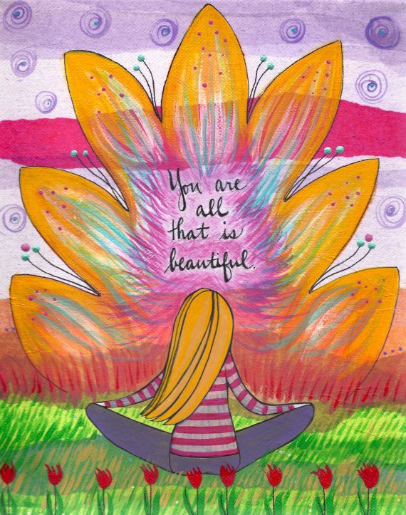Bali Beauty :: This print is a reminder that you are all that is beautiful.