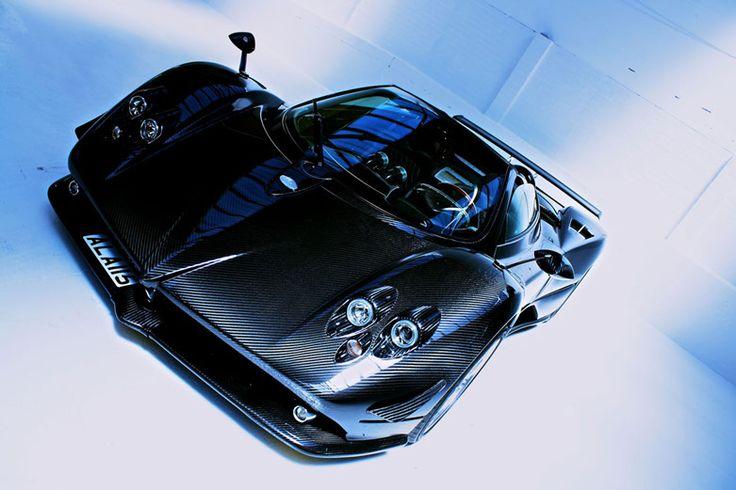 Stunning carbon fibre Pagani Zonda F Roadster