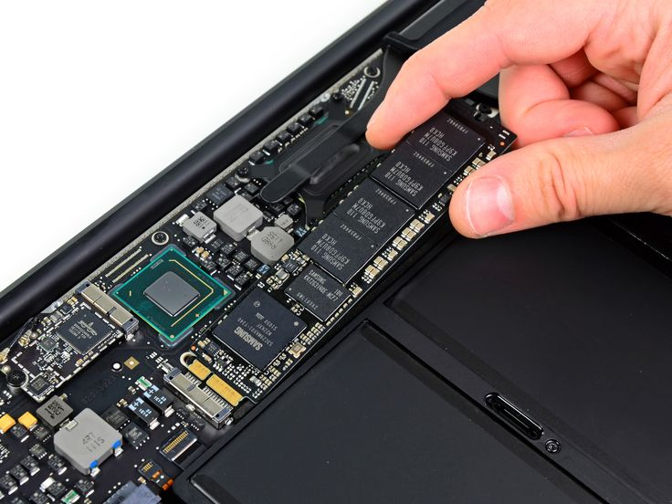 "Replace the solid state drive on your MacBook Air 13"" Mid 2011."