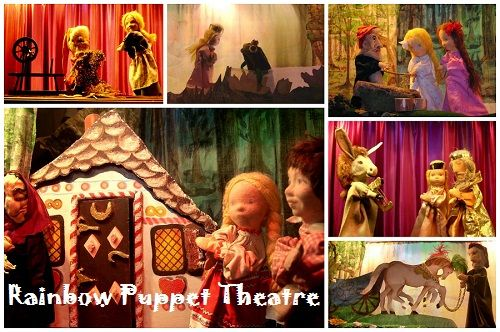 Rainbow Puppet Theatre. 2 shows every Saturday 10am and 11.15am. Wonderful stories from Brothers Grimm and other sources, very enjoyable for children of all ages. A new tale every month.