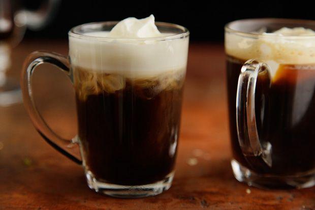 Irish Coffee made with espresso #Chow