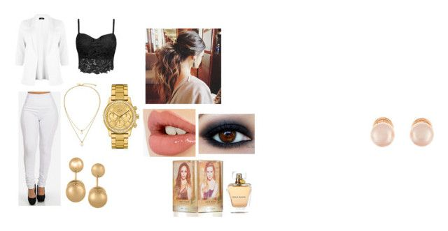 """""""Sin título #5"""" by camila-munoz-valdes on Polyvore featuring Belleza, Charlotte Tilbury, Kate Spade, Kenneth Jay Lane, Lacoste y plus size clothing"""