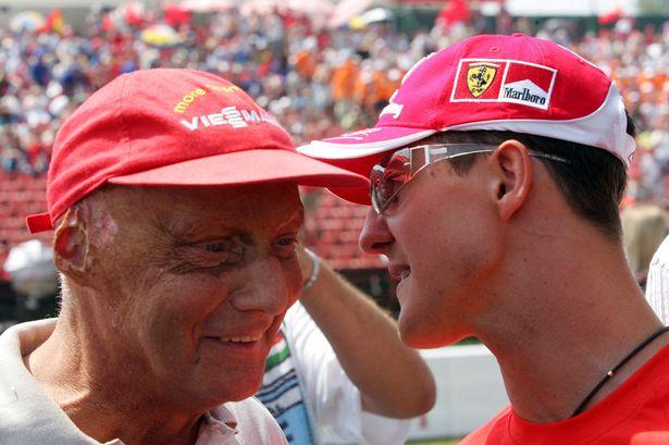 Schumi en Lauda  Great Legends