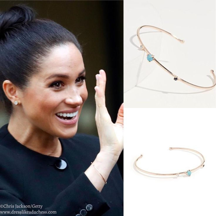 Meghan Markle In Black Givenchy For Visit To The ACU