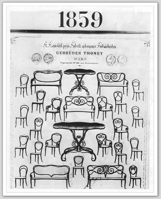 CATALOGUE THONET 1859