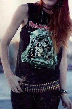 yesss would love to have a Maiden shirt, as well as about a bazillion other metal bands. Sigh.