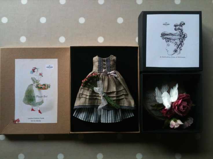 Little moshi studio - Little Flower Girl Set | Flickr - Photo Sharing!