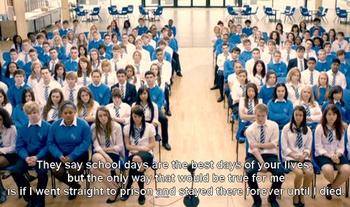 "On lies: | 34 Times ""The Inbetweeners"" Summed Up Growing Up In Britain"