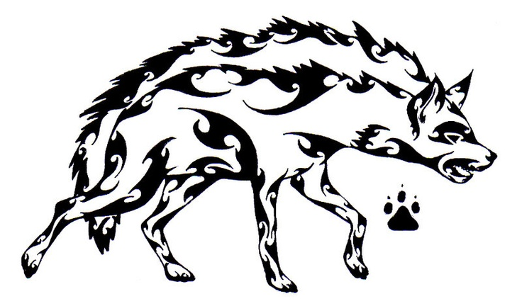 tribal hyena tattoo idea by paige rollins carnivora pinterest hyena tattoo ideas and. Black Bedroom Furniture Sets. Home Design Ideas