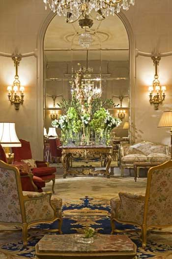 "The ""Copie de Fleurs"" lobby Hotel Ritz Paris"