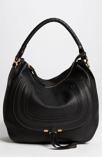 689753f313 Everytime I see this bag ......Chloé  Marcie - Large  Leather Hobo  available at  Nordstrom  blackhandbags