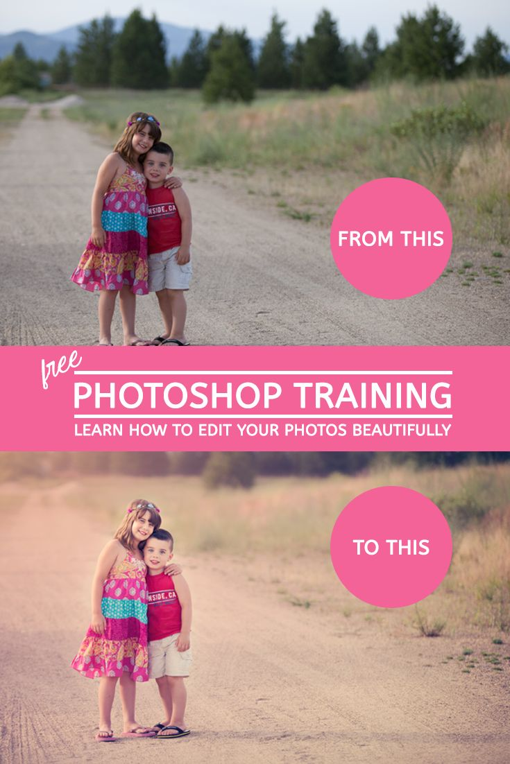 Signup For Free Photoshop Training And Learn How To Edit Your Photos…