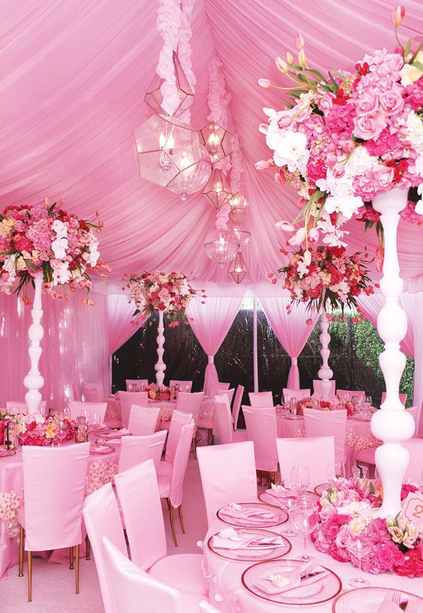 Elegant Pretty In Pink Baby Shower {Amazing Florals