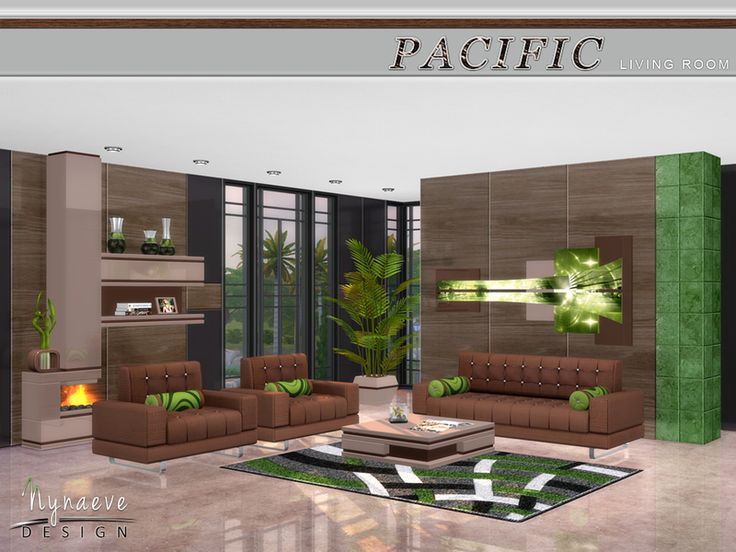 NynaeveDesigns Pacific Heights Living Room