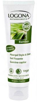 OLETANA - Logona Haargel Style & Shine - mit pflegendem Bambus & Birkenblatt-Extrakt