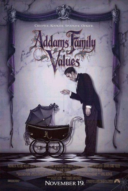Addams Family Values Fuck Yeah Movie Posters!
