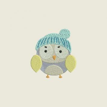 Winter owls 02 | Spookies Treasures
