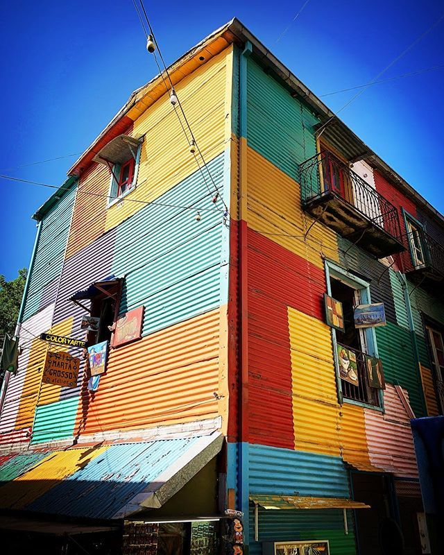 The Colorful La Boca Neighborhood Of Buenos Aires Buenosaires Laboca Argentina Travel Travelphotography The Neighbourhood Buenos Aires Travel Photography