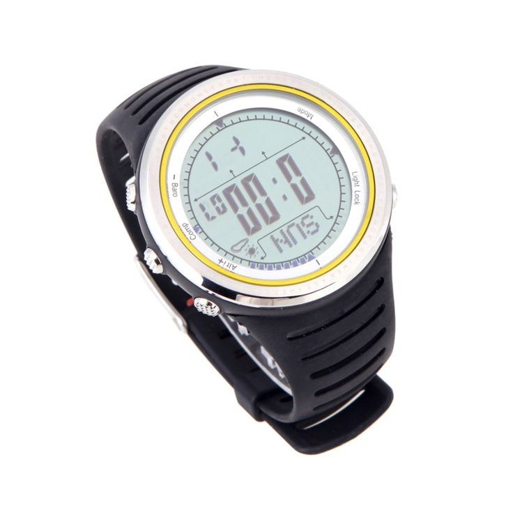 Sunroad 5ATM Waterproof Altimeter Compass watch
