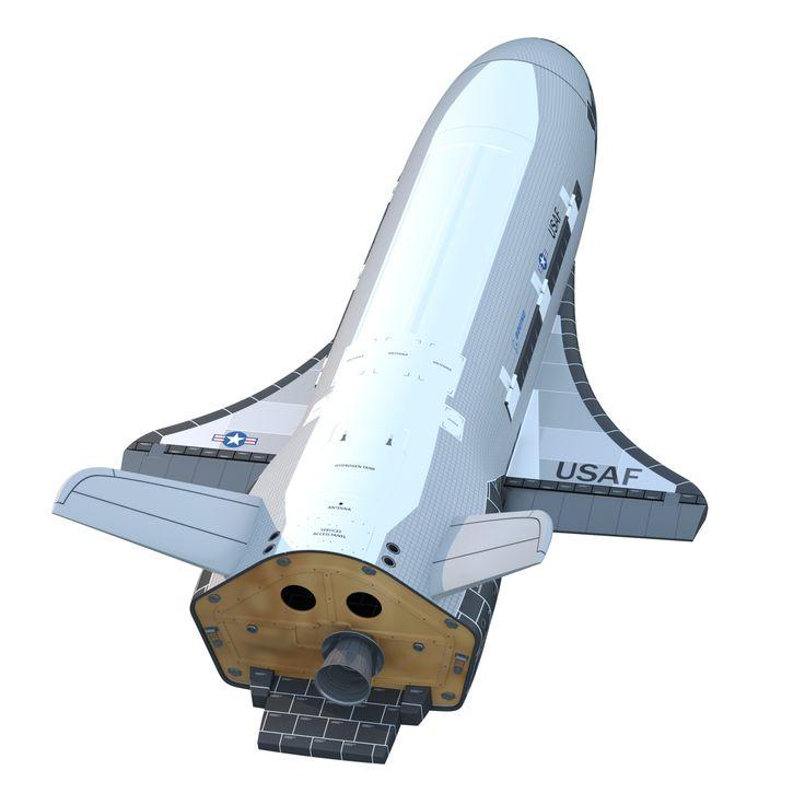 Boeing X 37B X 37 3D Model - 3D Model