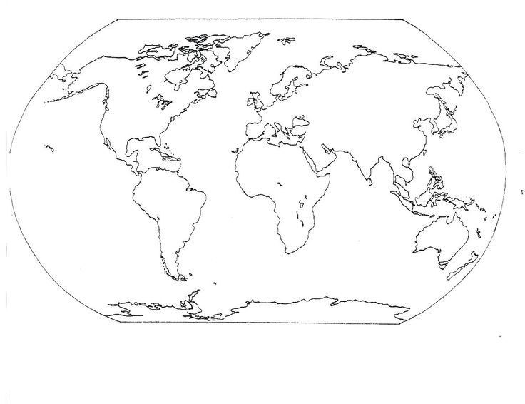 13 best Geography images on Pinterest Continents and oceans - new google world map printable