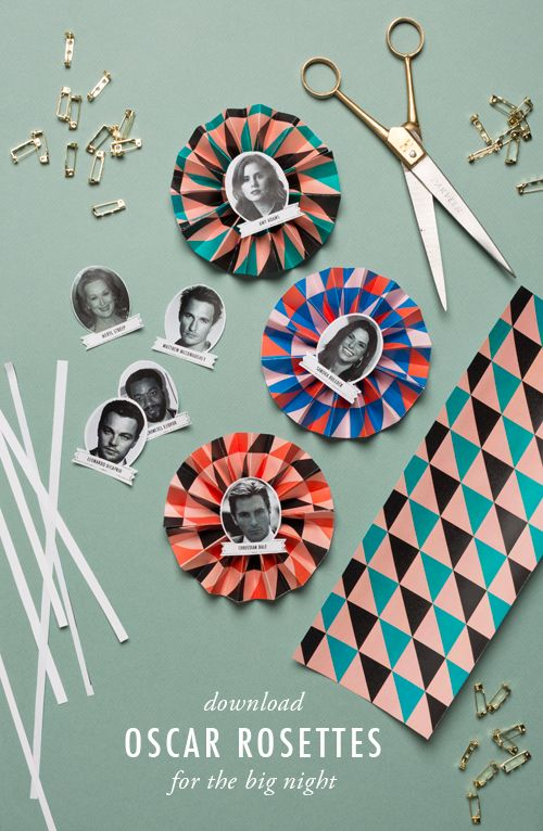Last year I asked Michele Brummer Everett to create some Oscar rosettes...  Read more »