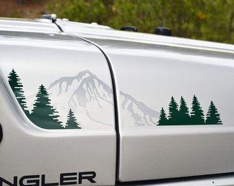 Arbres de Flare Fender avant Jeep Wrangler TJ par GraphicForest
