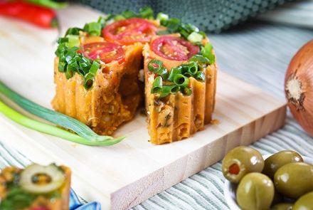 Receita de Cuscuz de Sardinha e Atum com Biomassa - receitas, vídeos e dicas para uma alimentação saudável