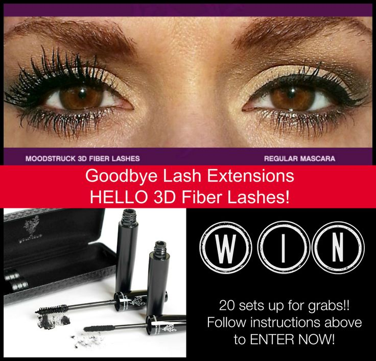 Say goodbye to lash extension and HELLO 3D FIBER LASHES!! This mascara is amazing!! We have 20 sets up for grabs NOW!! Enter now at www.facebook.com/LOVEnCHERISH