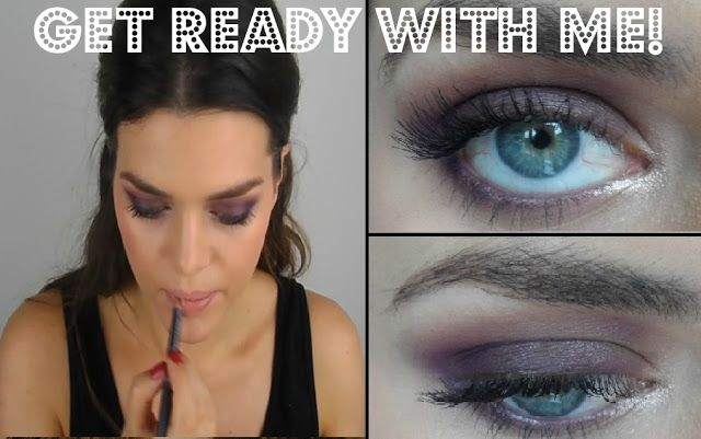 Makeup Over Mind: Get Ready With Me│Purple Smokey Eye