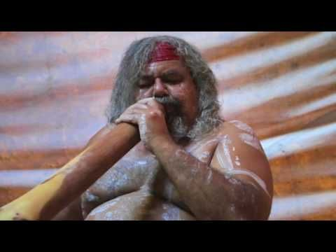 Traditional Didgeridoo Rhythms by Lewis Burns, Aboriginal Australian Artist - YouTube