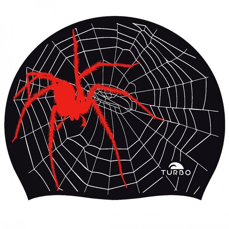 Gorro de natación Spider